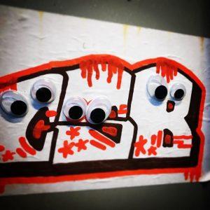 Glubsch. #streetart #wackelaugen