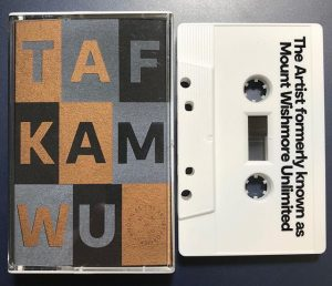#nowplaying The Artist Formerly Known As Mount Wishmore Unlimited - TAFKAMWU #tapecollection #gutemusik #bandsalat #kassettenkind #tafkamwu @noorden.rec #noorden #dubtechno